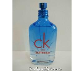 Calvin Klein - CK One Summer Year 2017 For Unisex Tester Pack 100ml EDT Spray