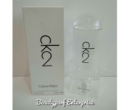 Calvin Klein – CK2 Unisex Tester Pack 100ml EDT Spray
