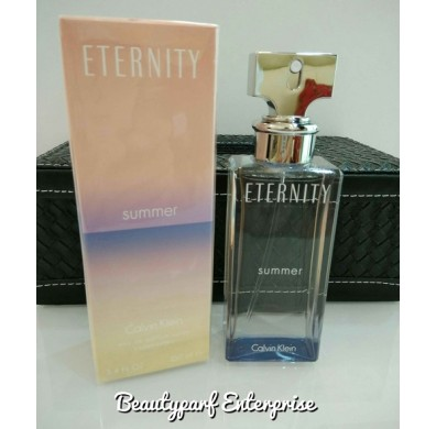 Calvin Klein - CK Eternity Summer Year 2015 For Women 100ml EDP Spray
