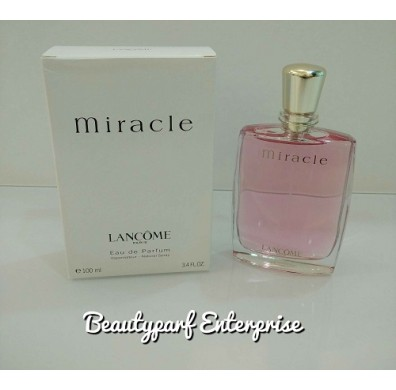 Lancome Miracle For Women 100ml Tester Pack EDP Spray