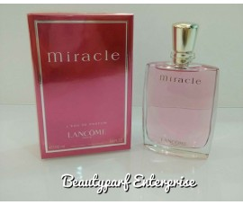 Lancome Miracle Women In 5ml EDP Refillable Spray + Free MJ Daisy Dream Forever 1.2ml EDP Spray - HOT BUY!