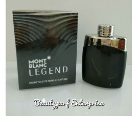 Mont Blanc - Legend Men In 5ml Refillable Spray + Free CK Euphoria Men 1.2ml EDT Spray - HOT BUY!