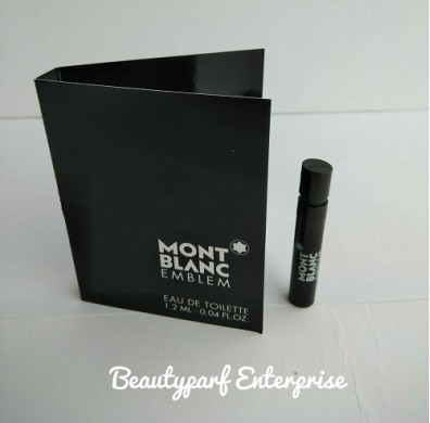 Mont Blanc Emblem Men Vial 1.2ml EDT Spray