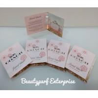 Coach & Floral Blush Women 4pcs Vial Collection 2ml Spray