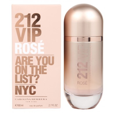 Carolina Herrera 212 VIP Rose Women 80ml EDP Spray