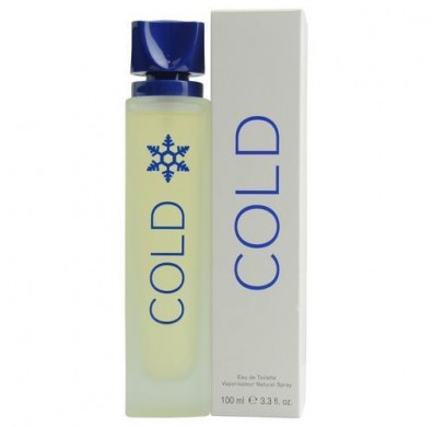 Benetton Cold For Men 100ml EDT Spray  - New Packaging