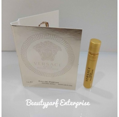 Versace Eros Pour Femme Vial 1ml EDP Spray