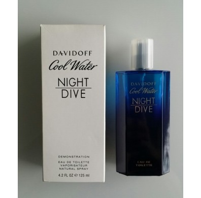 Davidoff Cool Water Night Dive Men Tester Pack 125ml EDT Spray