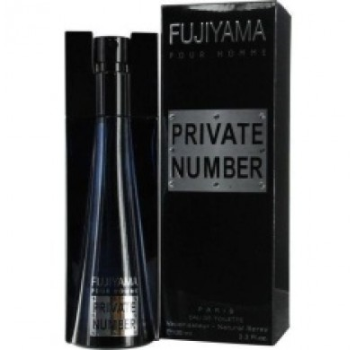 Fujiyama Private Number Men 100ml EDT Spray