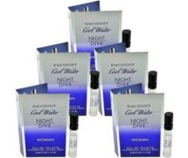 Davidoff Cool Water Night Dive Women Vial 1.2ml EDT Spray