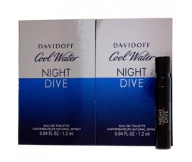 Davidoff Cool Water Night Dive Men Vial 1.2ml EDT Spray