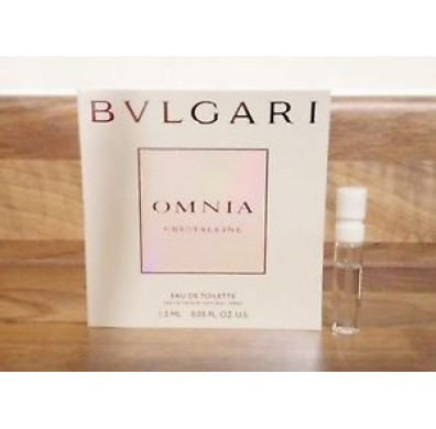 Bvlgari Omnia Crystalline Women Vial 1.5ml EDT Spray