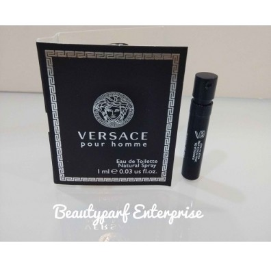 Versace Pour Homme Vial 1ml EDT Spray