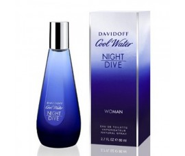 Davidoff Cool Water Night Dive Women 80ml EDT Spray