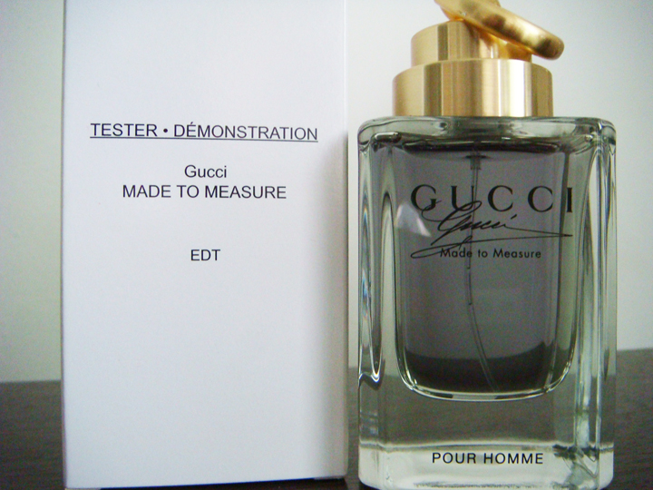 Gucci By Gucci Made To Measure Man Tester Pack